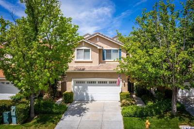 Stevenson Ranch Single Family Home Active Under Contract: 25533 Burns Place