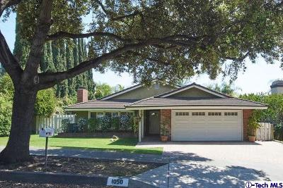 Arcadia Single Family Home For Sale: 1050 El Caballo Drive