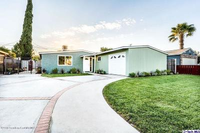 Panorama City Single Family Home For Sale: 8019 Mammoth Avenue