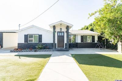 North Hollywood Single Family Home For Sale: 7707 Ethel Avenue