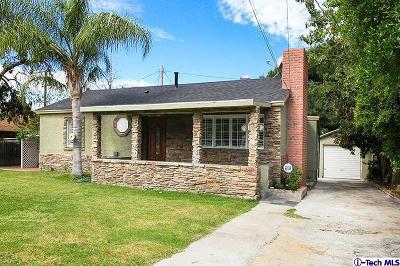 Sunland Single Family Home Active Under Contract: 10823 Odell Avenue