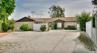 North Hollywood Single Family Home For Sale: 8224 Webb Avenue