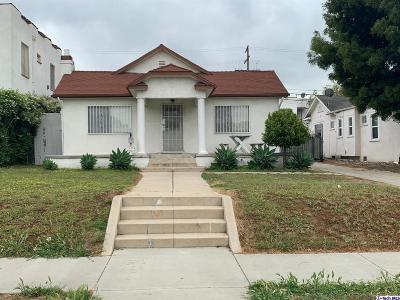 Hollywood Single Family Home For Sale: 1174 North Berendo Street
