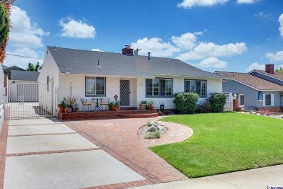 Burbank Single Family Home For Sale: 936 Cornell Drive