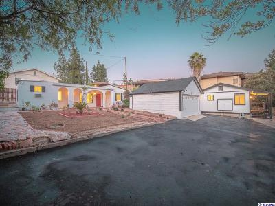 Glendale Single Family Home For Sale: 2949 Montrose Avenue