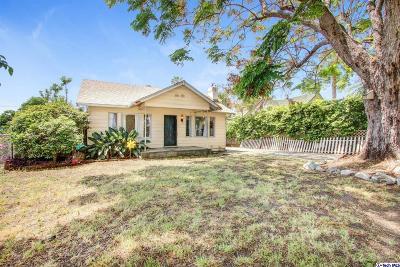 Pasadena Single Family Home Active Under Contract: 3512 Milton Street