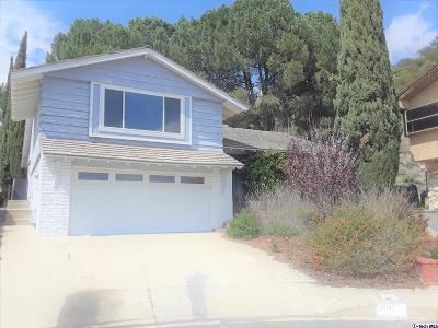 Glendale Single Family Home For Sale: 3811 Arnell Place