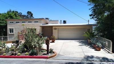 Glendale Single Family Home For Sale: 1720 Marion Drive