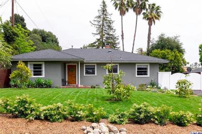 Altadena Single Family Home For Sale: 2174 Mar Vista Avenue