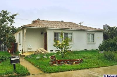 North Hollywood Single Family Home For Sale: 7646 Whitsett Ave Avenue