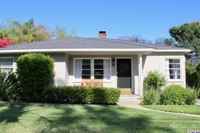 Pasadena Single Family Home For Sale: 250 South Altadena Drive