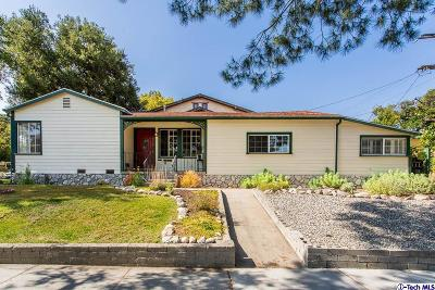 Glendale Single Family Home Active Under Contract: 1707 Arlington Avenue