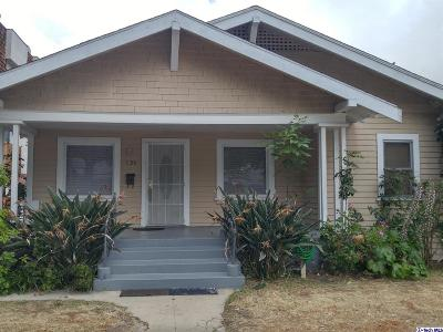 Glendale Single Family Home For Sale: 526 West Doran Street