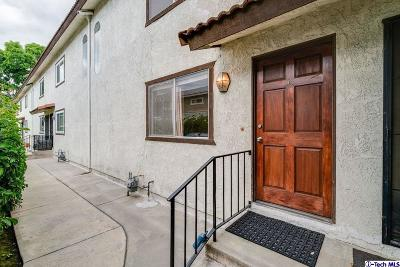 Monrovia Condo/Townhouse For Sale: 509 West Duarte Road #C