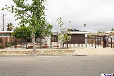 Sun Valley Single Family Home For Sale: 11241 Stagg Street