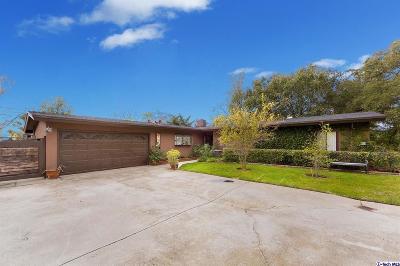 Altadena Single Family Home For Sale: 216 East Loma Alta Drive