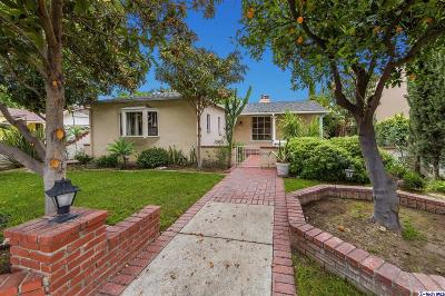 Burbank Single Family Home For Sale: 914 North Catalina Street
