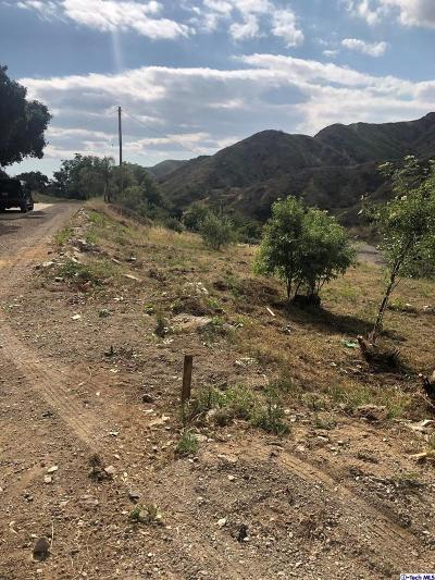 Los Angeles County Residential Lots & Land For Sale: La Tuna Canyon