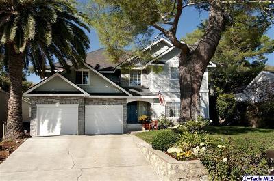La Crescenta Single Family Home Active Under Contract: 2307 Panorama Drive