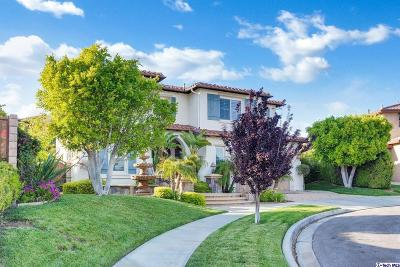 Simi Valley Single Family Home For Sale: 5061 Copper Ridge Court