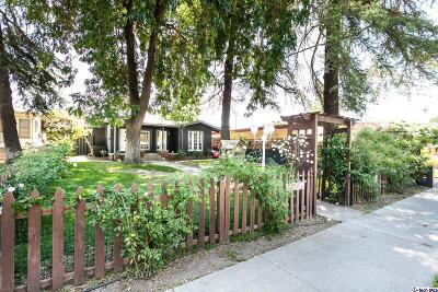 Fillmore Single Family Home For Sale: 610 Central Avenue