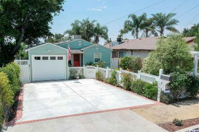 Sunland Single Family Home Active Under Contract: 10535 Rhodesia Avenue