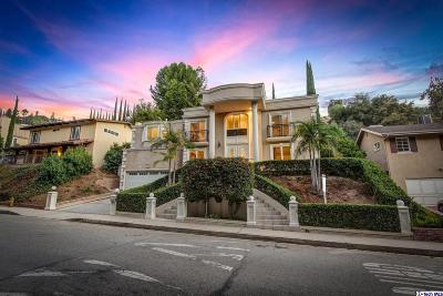 Studio City Single Family Home For Sale: 3328 Berry Drive