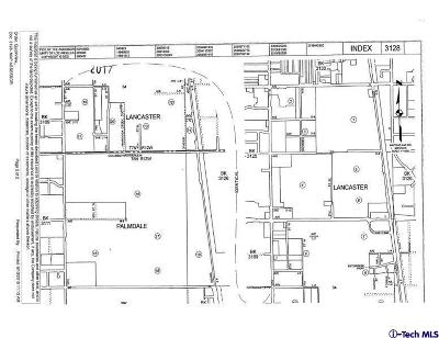 Palmdale Residential Lots & Land For Sale: Ave M 12 5th St W