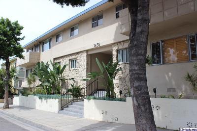 Los Angeles County Condo/Townhouse For Sale: 1435 North Fairfax Avenue #21
