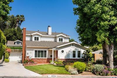 La Crescenta Single Family Home Active Under Contract: 4034 Willalee Avenue