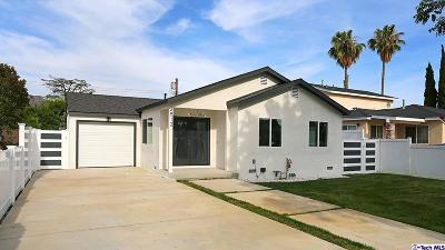 Burbank Single Family Home For Sale: 2512 North Lincoln Street