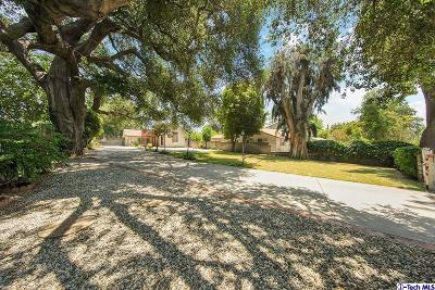 Altadena Single Family Home For Sale: 2086 Maiden Lane
