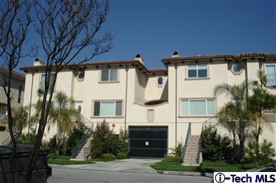 Montrose Condo/Townhouse For Sale: 2307 Mira Vista Avenue #101