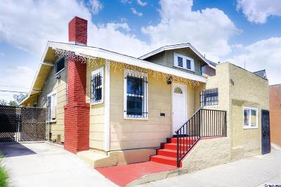 Los Angeles Single Family Home For Sale: 1251 West Florence Avenue