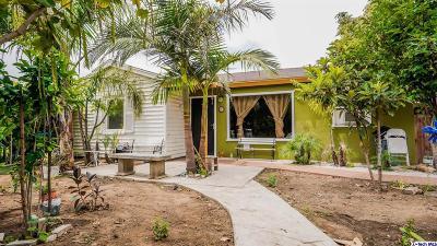 Azusa Single Family Home Active Under Contract: 217 South Cerritos Avenue