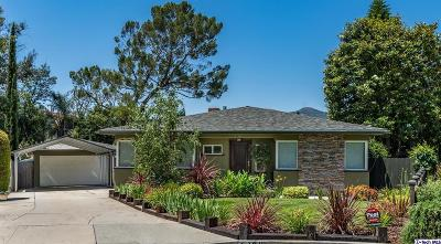 Los Angeles County Single Family Home Active Under Contract: 2340 Barton Lane
