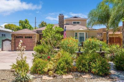 Burbank Single Family Home For Sale: 1910 North Pass Avenue