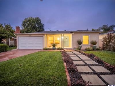 Burbank Single Family Home Active Under Contract: 730 North Orchard Drive