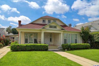 Single Family Home For Sale: 1021 Westchester Place