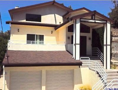 La Crescenta Single Family Home For Sale: 5915 Canyonside Road