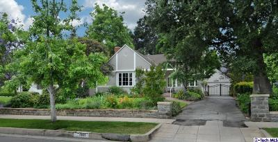 Pasadena Single Family Home For Sale: 1101 East Woodbury Road