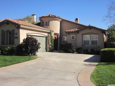 Los Angeles County Single Family Home For Sale: 3506 Giddings Ranch Road