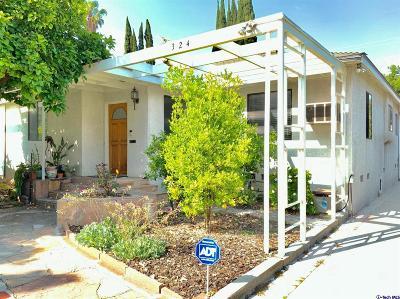 Burbank Single Family Home For Sale: 324 North Beachwood Drive