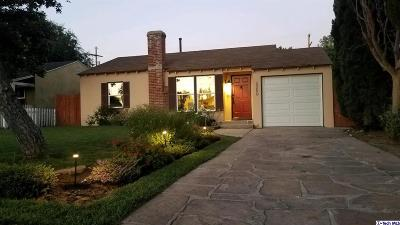North Hollywood Single Family Home For Sale: 5250 Strohm Avenue