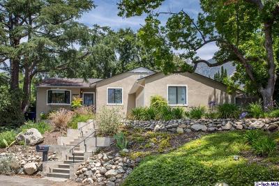 La Crescenta Single Family Home Active Under Contract: 3037 Stevens Street