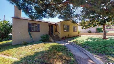 La Crescenta Single Family Home Active Under Contract: 5125 Pennsylvania Avenue