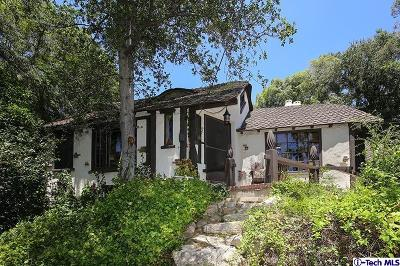 Glendale Single Family Home For Sale: 1855 Verdugo Knolls Drive