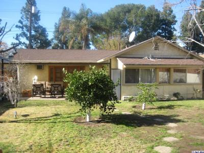 Burbank Single Family Home Active Under Contract: 1127 North Catalina Street