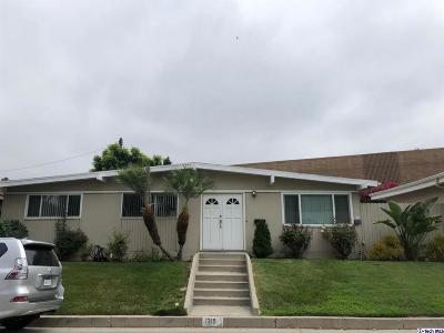 Glendale Single Family Home Active Under Contract: 1319 Fairfield Street