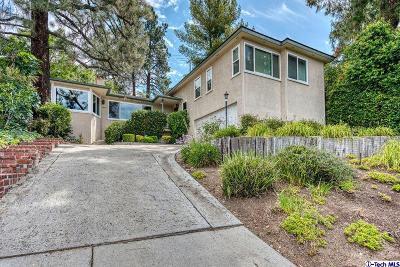 La Crescenta Single Family Home For Sale: 2849 Markridge Road